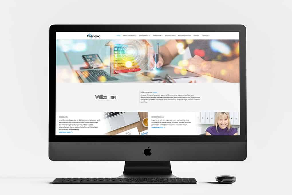 Energieberatung Webseite